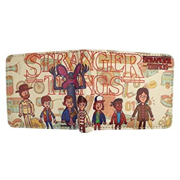 SWVV Comics Pop Style Stranger Things Billetera Monedero ...