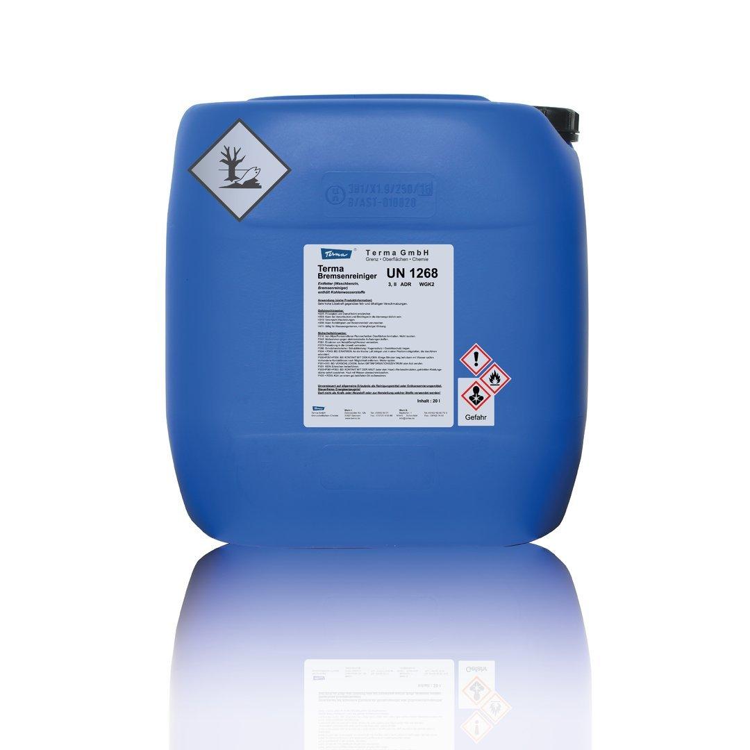 Terma Bremsenreiniger 5 L Acetonfrei, Entfetter, Vorreiniger fü r Werkstatt, (5 Liter) Terma GmbH
