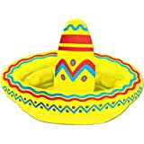 Amazon.com: Inflable Amarillo Fiesta Sombrero de buffet ...