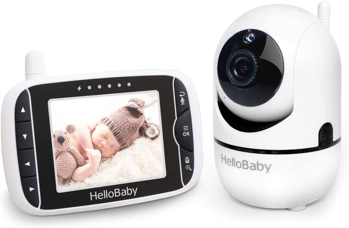 Baby Monitor with Remote Pan-Tilt by Hello Baby US