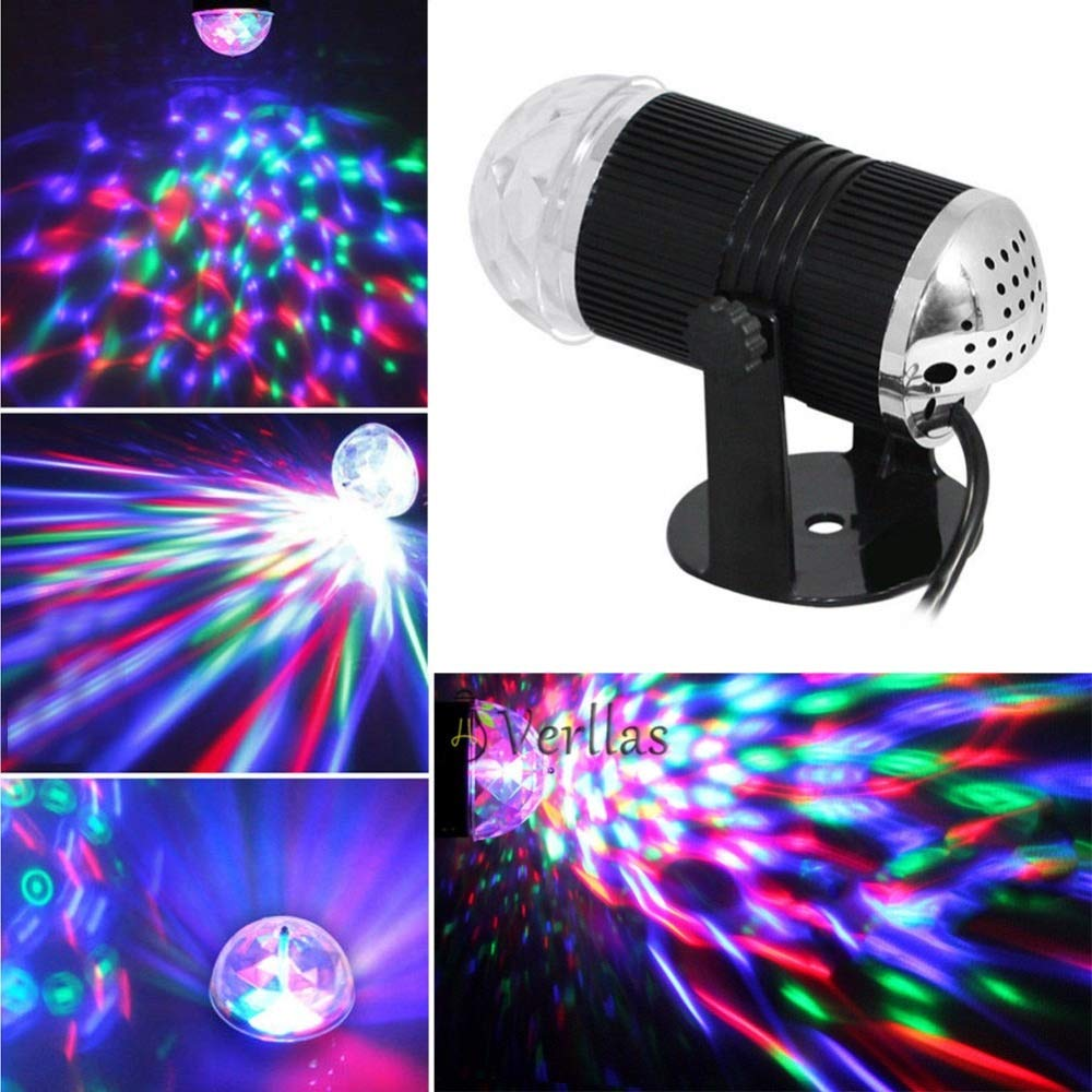 Luces LED para escenario de música 110-240 V DMX Disco Club DJ ...