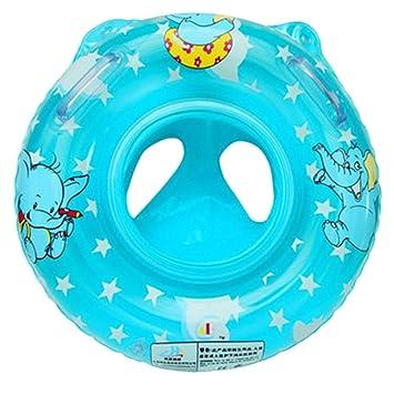 V-SOL Flotador con Asiento para Bebés Barca de Piscina Niños Azul: Amazon.es: Juguetes y juegos