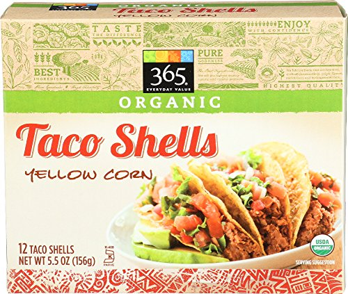 365 Everyday Value, Organic Taco Shells Yellow Corn, 5.5 oz
