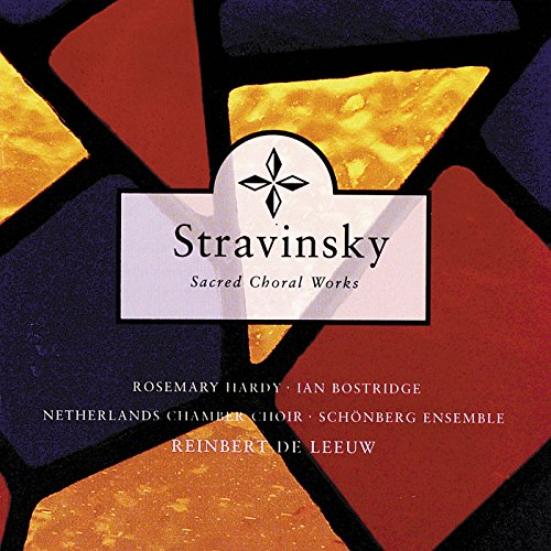 Stravinsky: Cantata on Old English texts for soprano, tenor, female voices and instrumental ensemble - Westron Wind