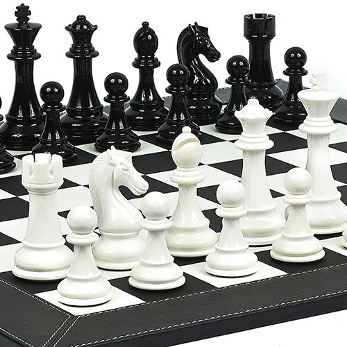 Financial District Chess Set