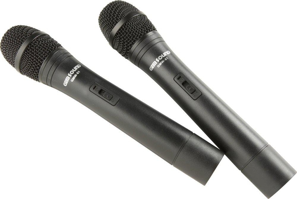 GEM sonido micrófono inalámbrico de doble canal: GEM SOUND: Amazon.es: Instrumentos musicales