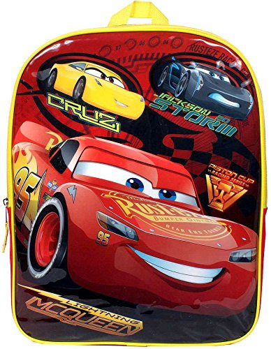 5a1b326cee Image Unavailable. Image not available for. Color  Disney Pixar Cars  Lightning McQueen Cruz Jackson Storm Speed Buddies Backpack