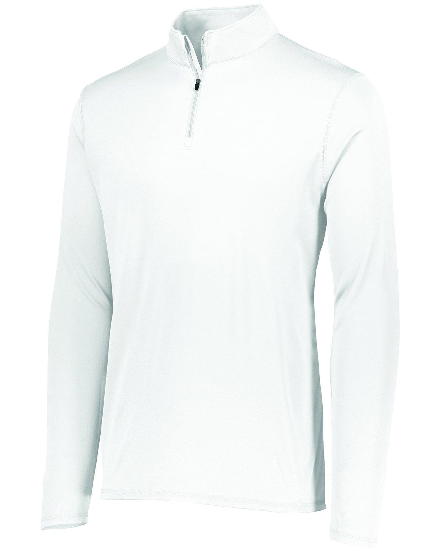 Augusta SportswearメンズAttain 1 / 4 Zipプルオーバー B075LP96MK XX-Large|ホワイト ホワイト XX-Large