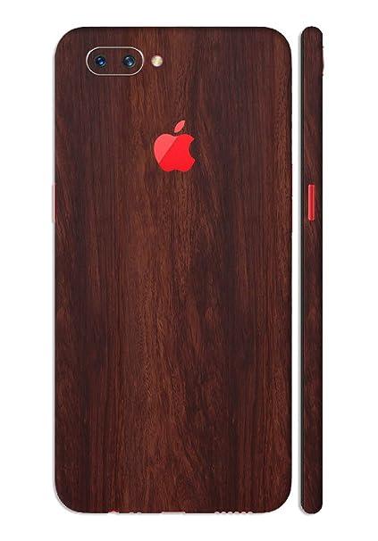 huge discount feea4 72b83 GADGETS WRAP Oppo A3s Wooden Mahogany Dark Wood Apple: Amazon.in ...
