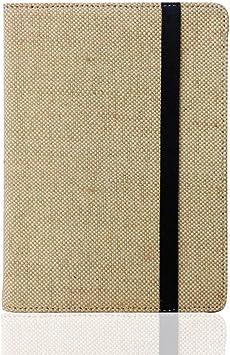 DATOUDATOU Caso Natural para Kindle 4 5 6 7 8 Touch Paperwhite eReader Funda Protectora Cubierta de cáñamo Moda Funda 2: Amazon.es: Electrónica