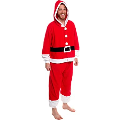 15c5421bd5 Silver Lilly Unisex Pajamas - One Piece Cosplay Holiday Santa Claus Costume  (S)