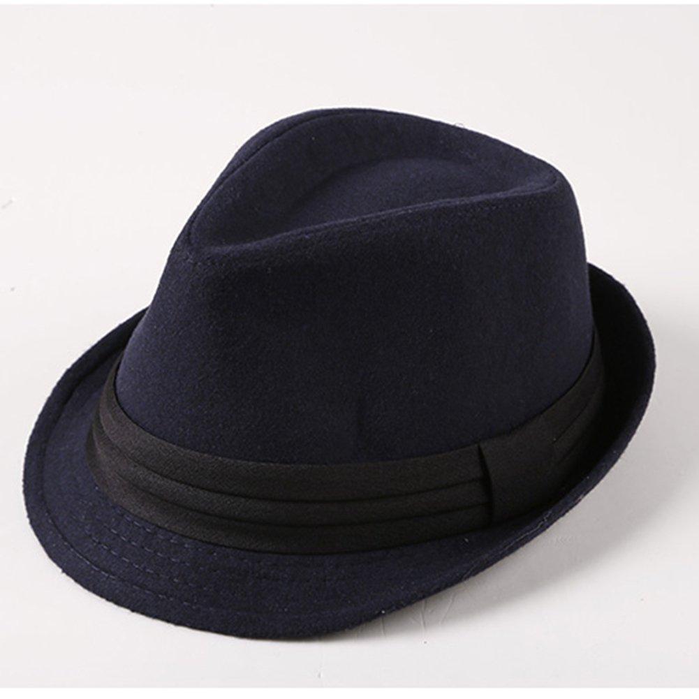 8b452fe415be2 Leisial Invierno Sombrero de Jazz Algodón de ala Ancha Moda Color Sólido  Gorro de Otoño para Fiesta Viaje de Hombres Mujers  Amazon.es  Ropa y  accesorios