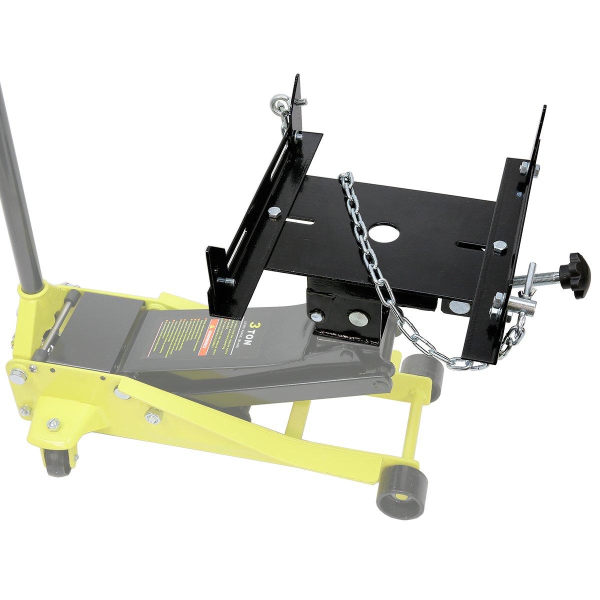 Amazon.com: XtremepowerUS 1/2 Ton Transmission Hydraulic Floor Jack Adapter:  Automotive