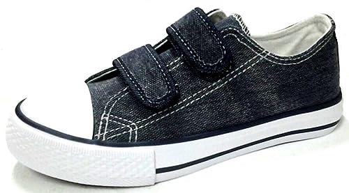 Oms By Original Marines Scarpe Bimbi Mod. Hcl 04814v Tela Jeans Sneakers hL0go5