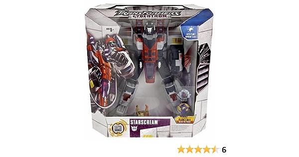 TRANSFORMERS CYBERTRON Starscream Supreme classe New in Box cyberkey