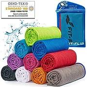 Cooling Towel für Sport & Fitness, Mikrofaser Handtuch/Kühltuch als kühlendes Handtuch für Laufen, Trekking, Reise…