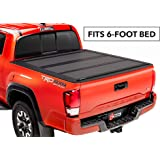BAKFlip MX4  Hard Folding Truck Bed Tonneau Cover   448427   fits 2016-19 Toyota Tacoma 6' bed