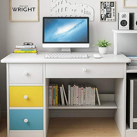 Home Office Computer Desk W// 3 Drawer Shelf Laptop Table Study Workstation US