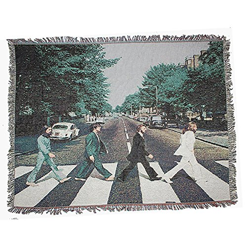 (Beatles Tapestry, Abbey Road Art Wall Hanging Wall Tapestry Hippie Mandala Bohemian Curtain Bed Cover Sofa Towel Living Room Bedroom Space Decor-A 47x59inch(120x150cm))