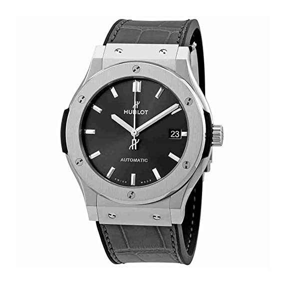 Hublot – Reloj Classic Fusion Racing gris titanio 45 mm para hombre