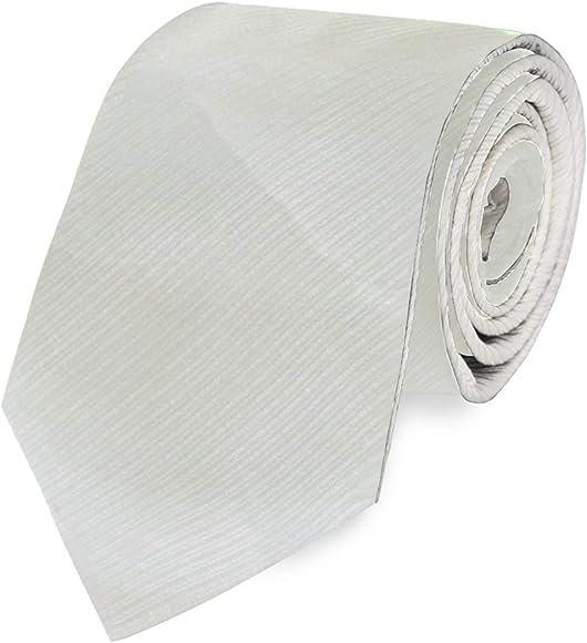 FAJRO Griotte Rock - Corbata formal de color sólido para hombre ...