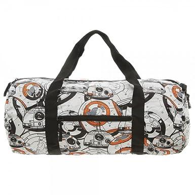 Star Wars Episode VII The Force Awakens BB 8 Gym Duffle Bag