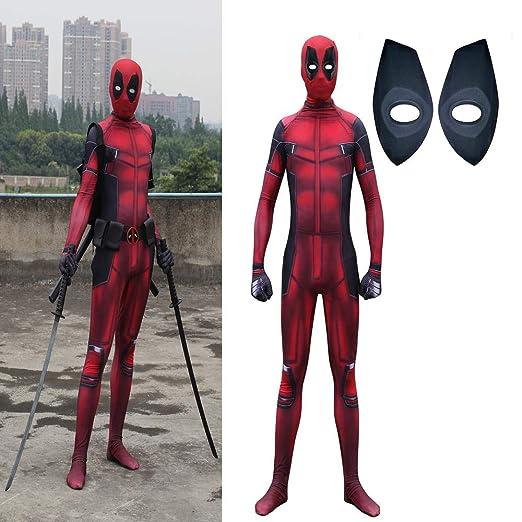 cosplay Halloween Disfraz De Deadpool Medias Siamesas Disfraz De ...