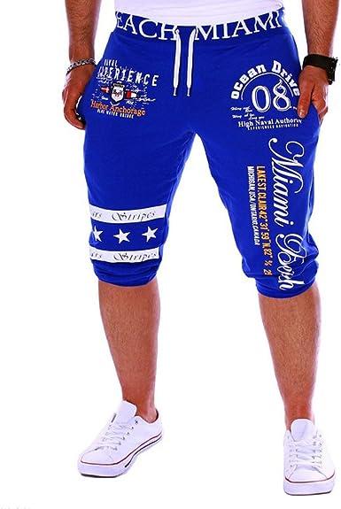 Pantalones Cortos Casual Deportivos de Hombre Subfamily, Moda ...