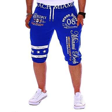 Cebbay Liquidación Pantalones Cortos Hombre Algodón Derecho ...