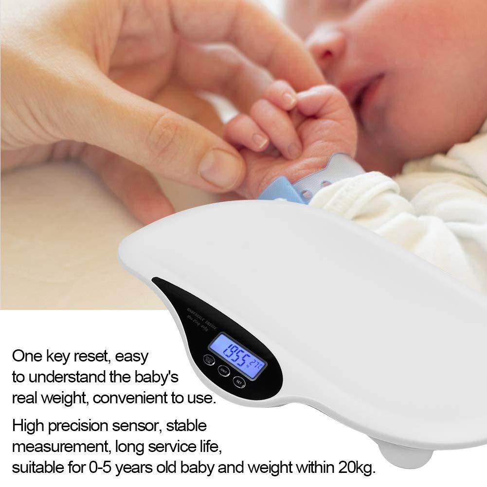 Mebby 95136/ Primeros pesos b/áscula para reci/én nacidos con funci/ón de pesado en movimiento