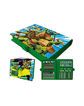 TORTUGAS NINJA - Maletin 55 Pzs: Amazon.es: Juguetes y juegos