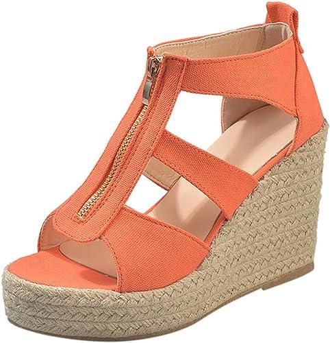 Sandales à talons, Compensées pas cher