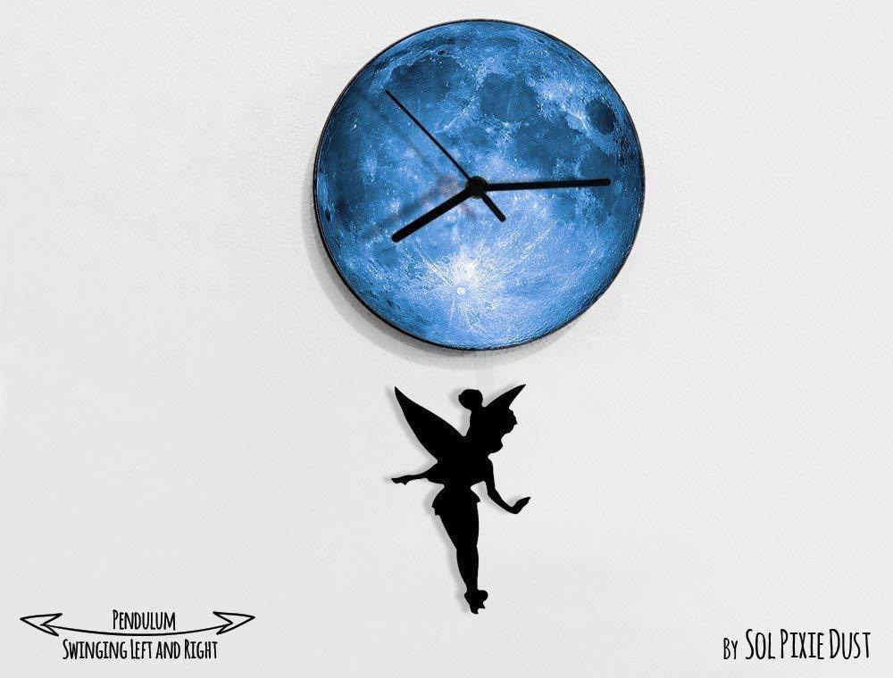 Tinker Bell  Swinging on the Big Ben Pendulum Wall Clock