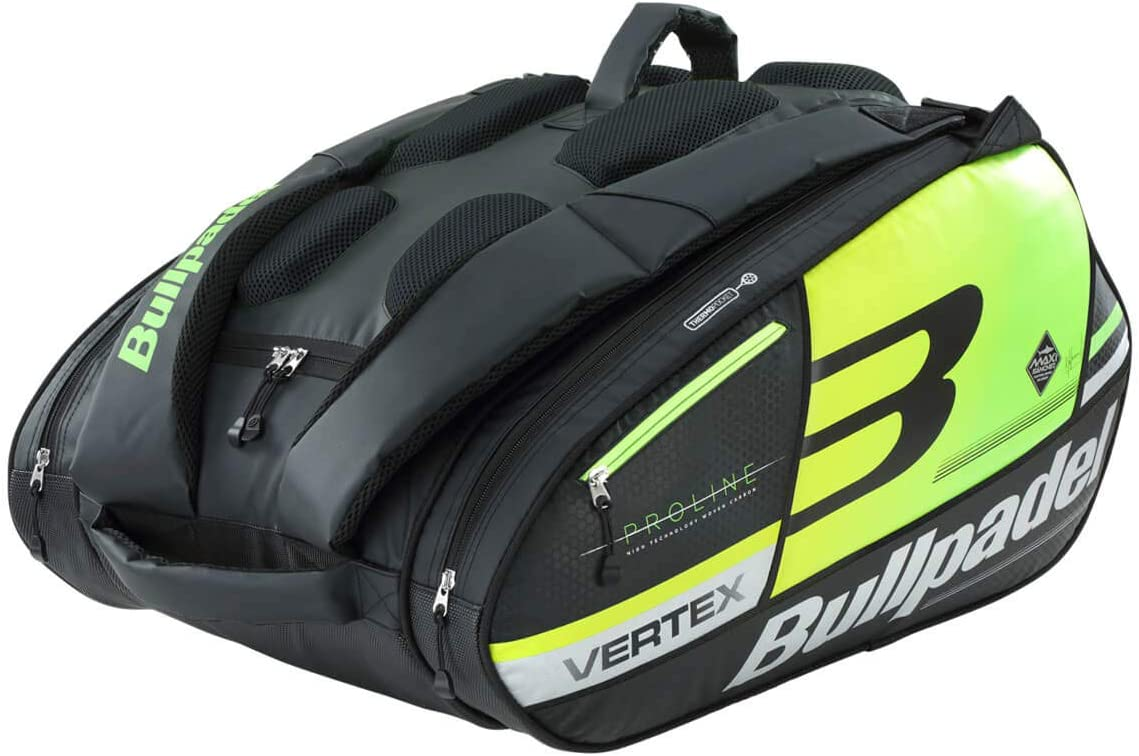 Bullpadel Paletero BPP19001 Vertex Big Capacity 2019, Adultos Unisex, Multicolor, Talla Unica