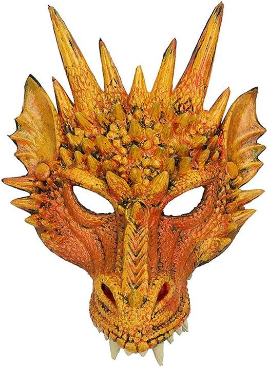 M-PENG máscara de dragón, máscara decorativa para Halloween ...