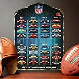 """Party Animal NFL Magnetic Standings Board 13.5"""" x"""