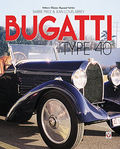 Download Bugatti Type 40 pdf epub