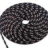 """New England Ropes 1/4"""" (6mm) Sta-Set Solid Black"""