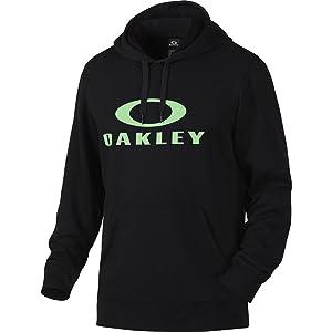 Oakley Mens Lockup LTD Hoody Pullover Sweatshirt Large Prizm Jade