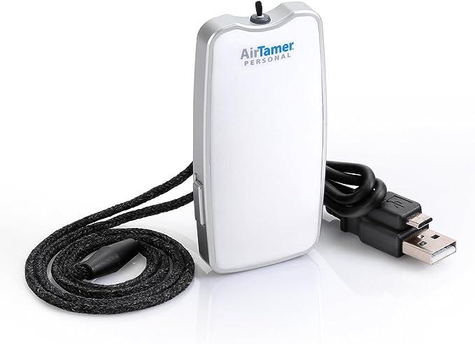 AirTamer - Generador de iones negativos recargable purificador de aire personal A310: Amazon.es: Hogar