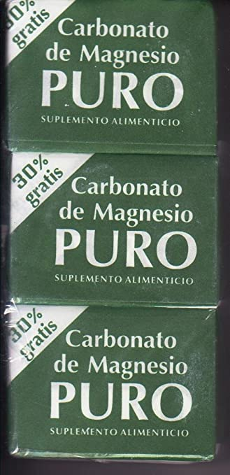 Amazon.com: 3 cubitos de magnesio grandes de 7g: Health & Personal Care