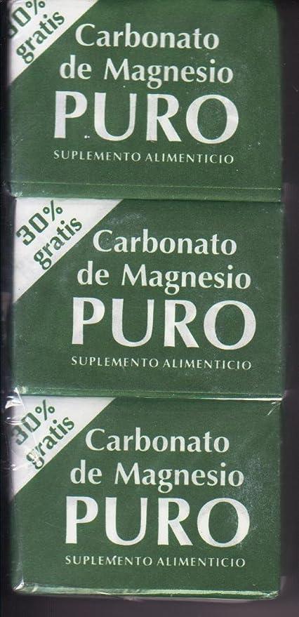 3 Cubitos De Carbonato De Magnecio by Coqui