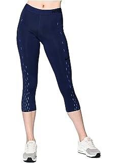 35b97594de8f99 Amazon.com: Nike Womens Mesh Inset Cropped Yoga Legging Navy XS ...