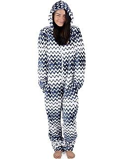 8f206252965f CityComfort Womens Onesie Fleece Twosie Super Soft Women Pyjamas Jumpsuit  for…
