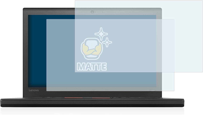 brotect 2X Entspiegelungs-Schutzfolie kompatibel mit Lenovo ThinkPad X260 Displayschutz-Folie Matt Anti-Fingerprint Anti-Reflex