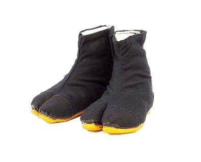 RIKIO Japanische Kinder Tabi Schuhe mit Klettverschluss und Polsterung BfOx8