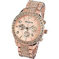 Geneva Women Fashion Luxury Crystal Wrist Watch,Outsta Unisex Stylish Quartz Watch