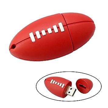 Tipo 32 GB Flash Drive Rugby Impulsión de la Pluma del palillo de Memoria de Almacenamiento de Datos para Ordenador Portátil USB: Amazon.es: Electrónica