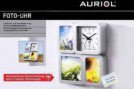 Auriol fotográfico de reloj Foto Reloj Reloj de pared Reloj de mesa – Radio reloj con