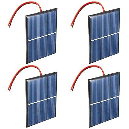 Amazon.com: GTIWUNG - Juego de 4 pilas solares de 1,5 V, 0 ...